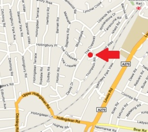 Community Centre map