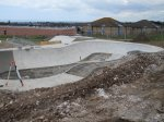 Hollingdean skatepark under construction